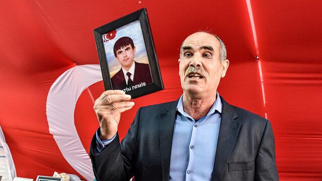 Evladı dağa kaçırılan babadan HDP ve PKK'ya tepki