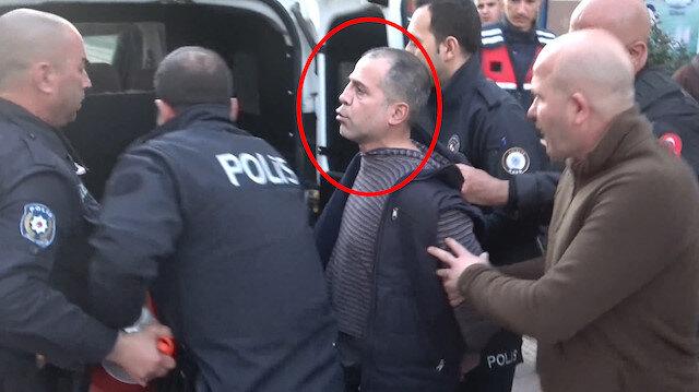 Gözaltına alınırken 'koronalıyım' diyerek polisin yüzüne tükürdü