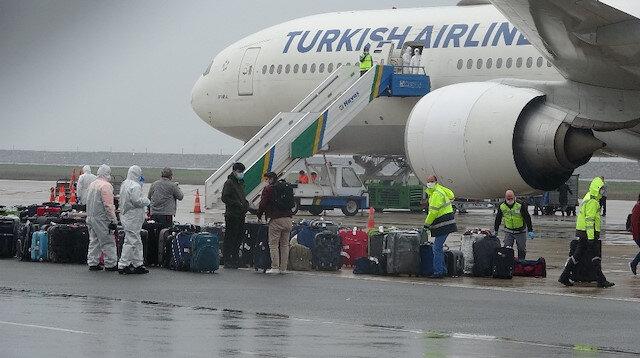 Kuveyt'ten 2 günde 644 Türk işçi Türkiye'ye getirildi