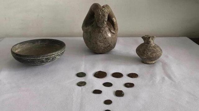 Afyonkarahisar'da tarihi eser operasyonunda bir şüpheli yakalandı
