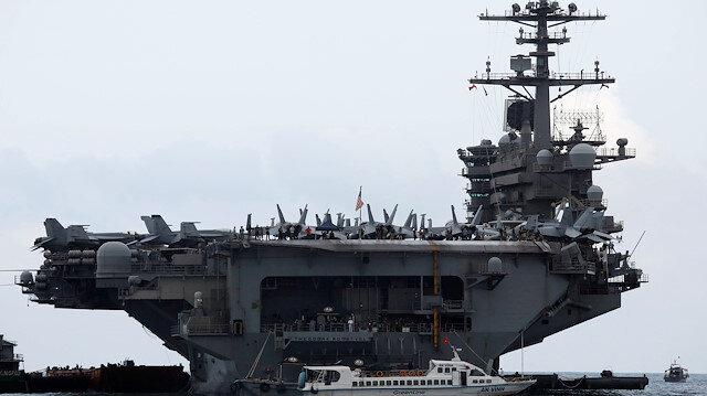 ABD ordusunu karıştıran koronavirüs mektubu: Theodore Roosevelt uçak gemisinin kaptanı görevden alındı