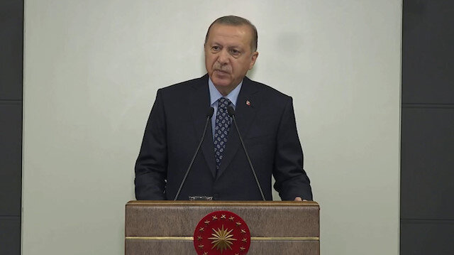 Cumhurbaşkanı Erdoğan: Herkesin maske takması zorunlu olacak
