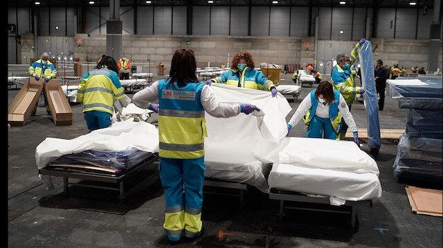 İspanya koronavirüsten kırılıyor: Can kaybı son 24 saatte 809 kişi artarak 11 bin 744'e çıktı