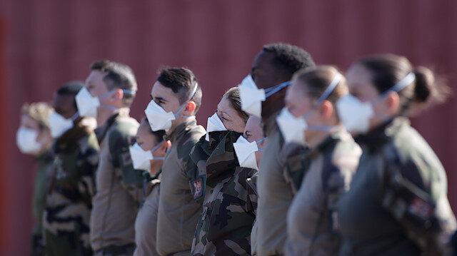 Fransa'dan korkunç açıklama: 600 askerin testi pozitif çıktı
