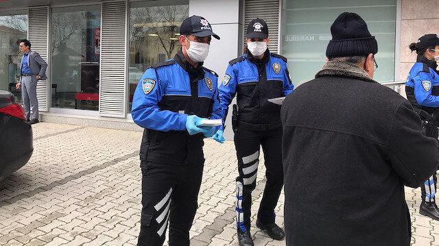 İstanbul'da koronavirüs tedbirlerine uymayan 205 kişiye para cezası kesildi