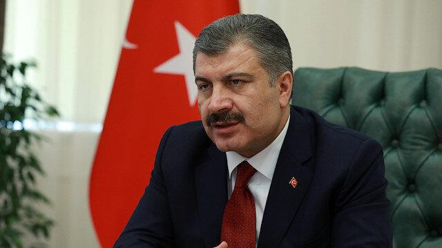 Sağlık Bakanı Koca: 'Virüs gücünü temas ortamından alıyor.'