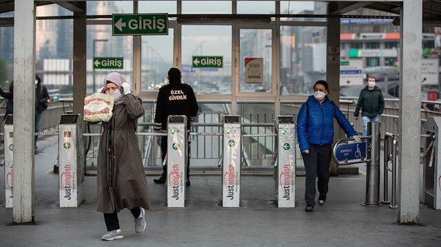 Toplu taşımada maskeli dönem başladı