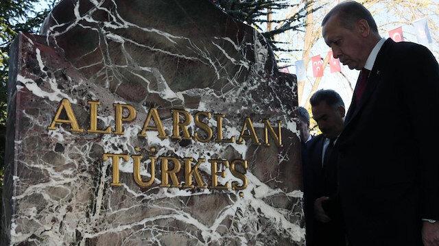 Cumhurbaşkanı Erdoğan'dan Alparslan Türkeş için anma mesajı