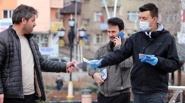 Emniyetten Erzurum'a özel 'evde kal' broşürü