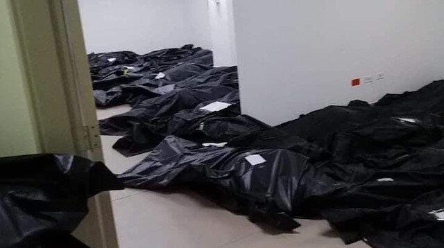 İtalya'da hastalar sokaklarda yatırıldı: Cenazeler koridorlarda birikti