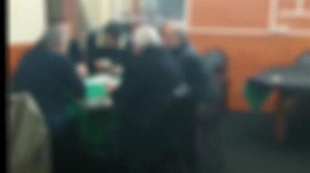 'Evde kal' dedikçe çıkıyorlar: Kahvehaneye kumar baskını