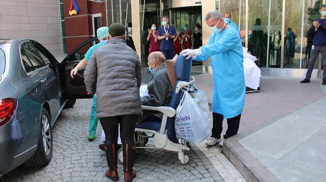 Ankara'dan güzel haber: 80 ve 89 yaşlarındaki çift koronavirüsü yendi