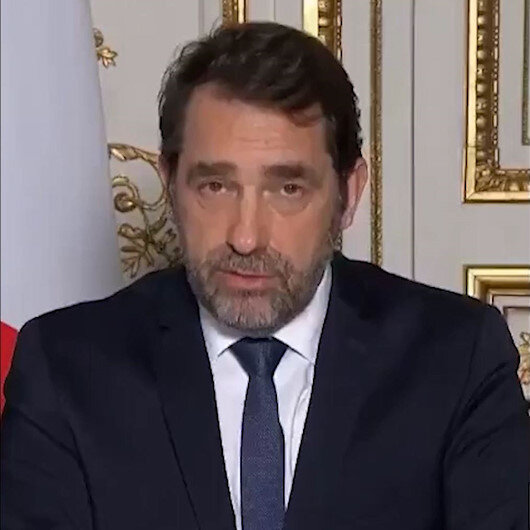 Fransa İçişleri Bakanı: Halkımız elindeki maskeleri hastanelere bağışlasın