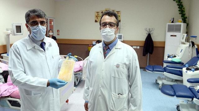 İnönü Üniversitesinde immün plazma yöntemiyle korona tedavisi başladı