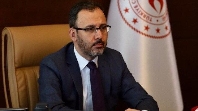 Bakan Kasapoğlu: Türk sporu irtifa kaybetmeyecek