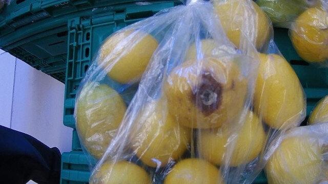 Vatandaş şikayet etti: Poşette çürük sebze satışına ceza yağdı