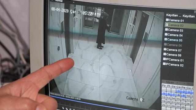 Apartmanda panik: Elindeki kimyasal maddeyi her yere sürdü