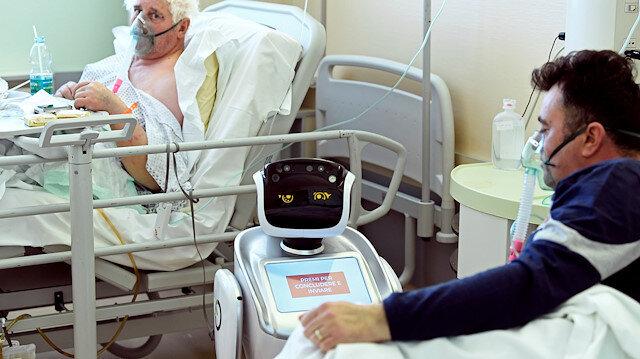 Koronavirüs ile birlikte dünyada robotlara talep arttı
