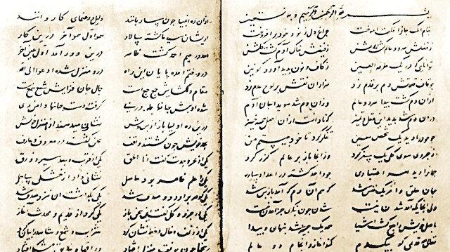 Tasavvufi mecazların yorumlanmasında başlıca bir kaynak Mesnevi: Gülşen-i Râz