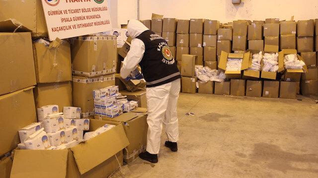 Tıbbi malzemeyi yurt dışına kaçırmak isterken yakalandılar: Yaklaşık 1 milyon 200 bin lira değerinde