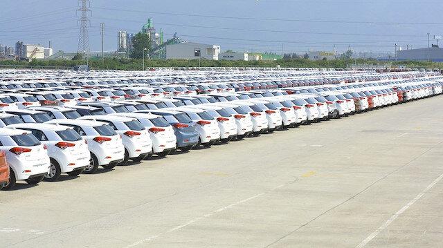 2,9 milyar dolarlık binek otomobil ihracatı yapıldı