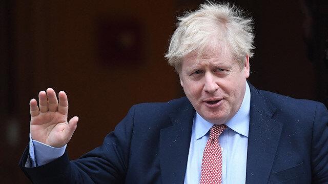 İngiltere Başbakanı Johnson'dan ilk görüntüler geldi