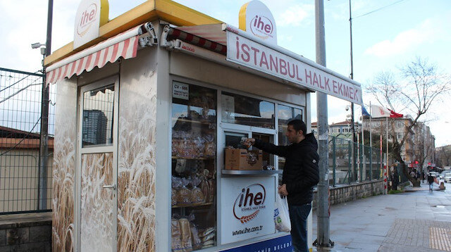 People's Bread kiosks in Istanbul were allocated to Sözcü