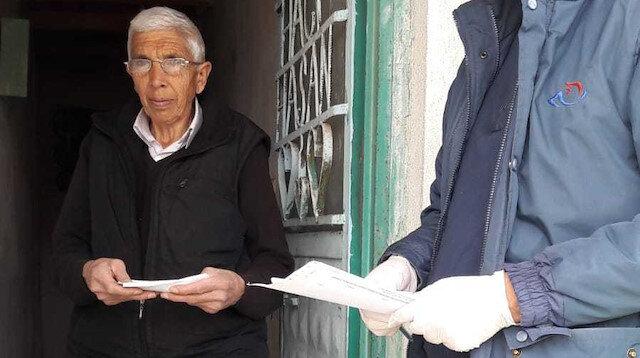 8,4 milyon kişinin emekli maaşı ve yardım ödemesi kapıda yapıldı