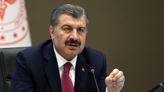 Bakan Koca: Türkiye'deki vaka sayısı 4'üncü haftada düşüşe geçti