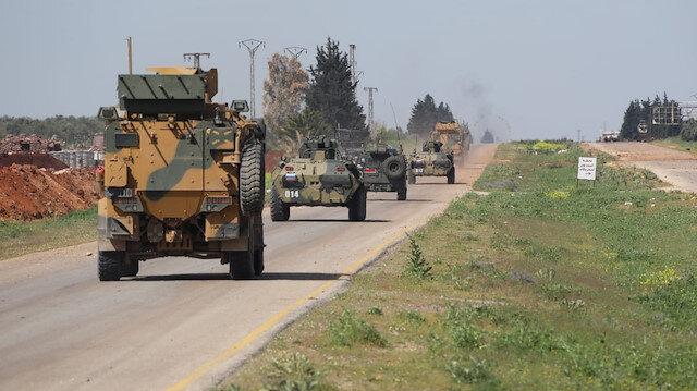 MSB: İdlib'deki M4 kara yolunda 4'üncü Türk-Rus birleşik kara devriyesi icra edildi