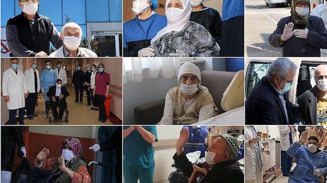'Türkiye'nin çınarları' koronavirüsü yendi, hastalara umut oldu