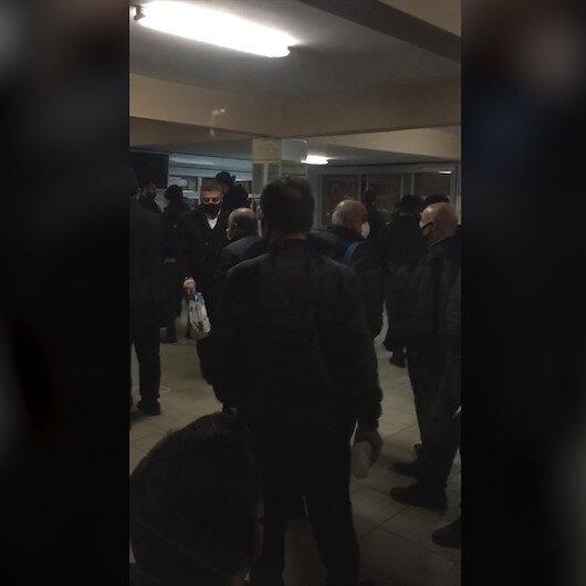 İETT şoförlerinin Ayazağa Garajındaki sağlıksız ortamı görüntülendi