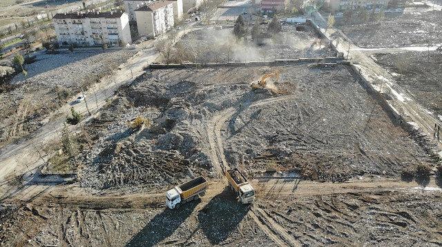 Deprem sonrasında bir mahalle bu hale geldi