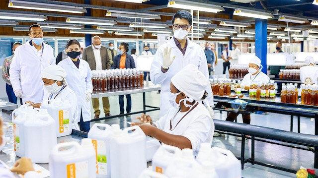 Madagaskar, koronavirüse karşı bitkisel ilaç geliştirdi