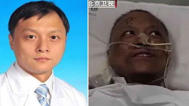 Çinli iki doktor koronavirüsü yendi ancak ten renkleri değişti
