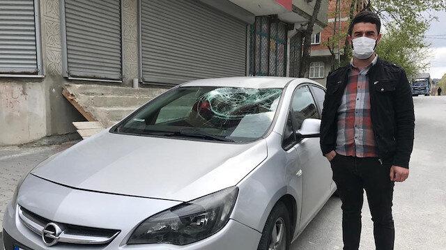 Arnavutköy'de inanılmaz olay: İnşaattan bir şey düştü sandı, gerçek güvenlik kamerasını izleyince ortaya çıktı