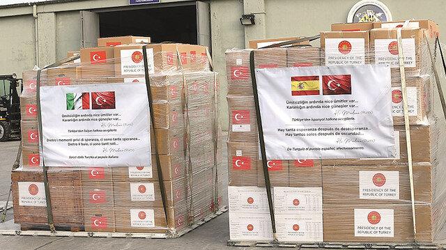 Dünyaya ilaç olduk:53 ükeye tıbbi malzeme yardımı yapıldı