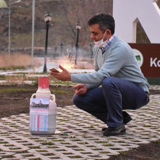 Türkiye'nin ilk iftar topu Kars'tan atıldı