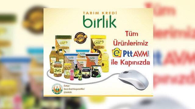 İyiliğe kargo köprüsü:  Tarım Kredi Kooperatifleri ile E-PttAVM işbirliğine gitti