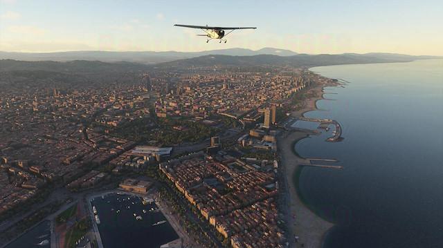 Microsoft Uçuş Simülatörü oyunundan göz alıcı görüntüler yayınladı