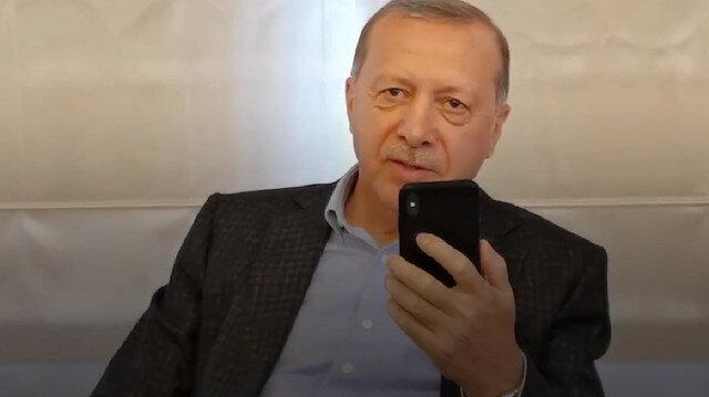 Cumhurbaşkanı Erdoğan, Leyla Gülüşken ile telefonda görüştü