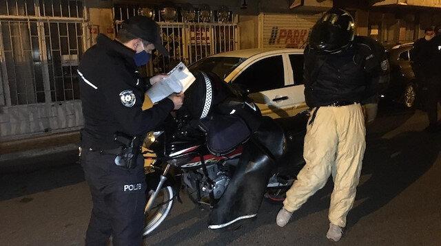 'Pide almak için evden çıktık' diyerek polise yalan söylediler, ceza yemekten kaçamadılar