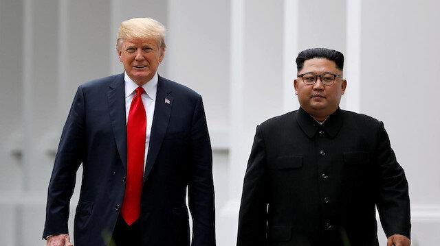 Trump'tan Kim Jong-un açıklaması: Bir fikrim var ama söylemem