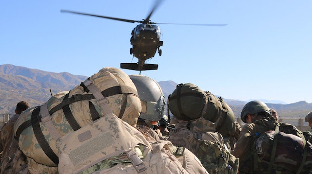 Hakurk'ta düzenlenen hava destekli operasyonda 2 terörist etkisiz hale getirildi