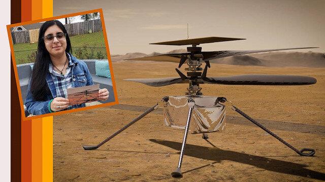 NASA, bir lise öğrencisinin verdiği Mars helikopterinin ismini açıkladı: Ingenuity