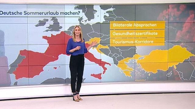 Alman televizyonunda dikkat çeken yayın: Türkiye'ye tatile gidin