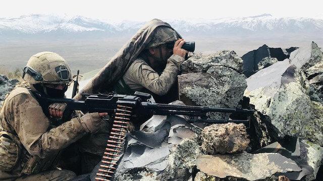 Barış Pınarı bölgesine sızma girişiminde bulunan PKK/YPG'li 4 terörist etkisiz hale getirildi