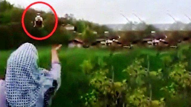Ambulans helikopterin inmesine izin vermeyen şahıs gözaltında
