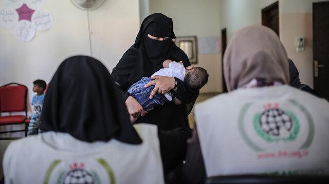 İHH'dan Gazzeli yetimlere nakdi yardım