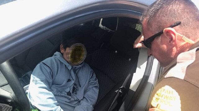 Polis şüphelenip durdurdu: Sürücü 5 yaşındaki çocuk çıktı